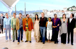 Matrix Reloaded photocall International Cannes Film 2003