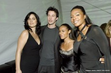 The Matrix Reloaded dvd release party 2003