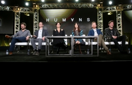 'Humans' Winter Television Critics Association Press Tour 2017