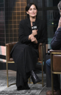 Actress Carrie-Anne Moss visits Build Series to discuss the series 'Jessica Jones' 2018