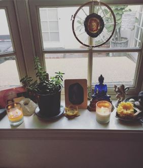 bringing you all into my morning as i set intention for this new moon :: all love to all